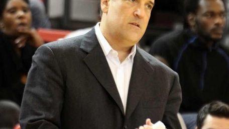 St. John's Steve Lavin looks on against Maryland-Baltimore