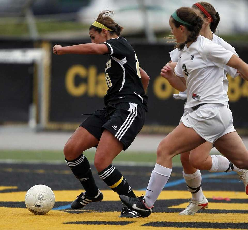 St. Anthony's Reanna Marino scores the first of