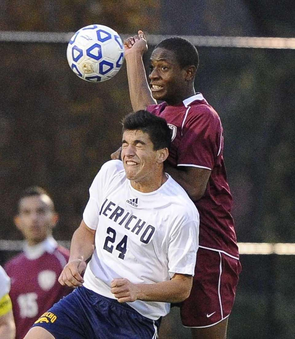 Jericho's Michael Blumberg and East Hampton's Donte Donegal