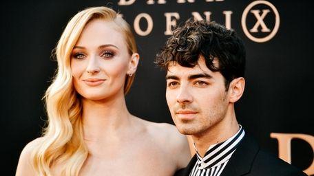 Sophie Turner and husband Joe Jonas attend the