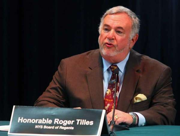 Roger Tilles of Great Neck, Long Island's representative