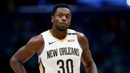 New Orleans Pelicans center Julius Randle (30) during