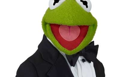 Disney's Kermit the Frog in his Brooks Brothers