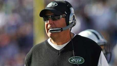 Head coach Rex Ryan of the New York