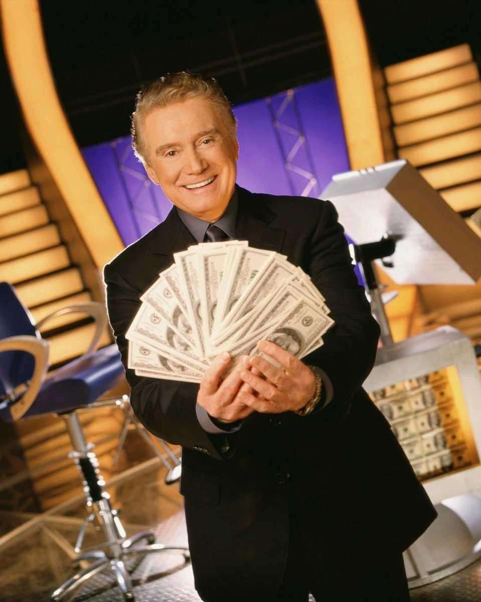 An undated file photo of Regis Philbin, as