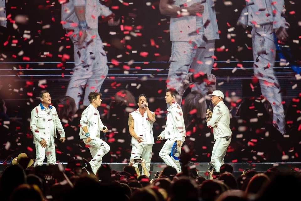 New Kids on the Block perform at Nassau