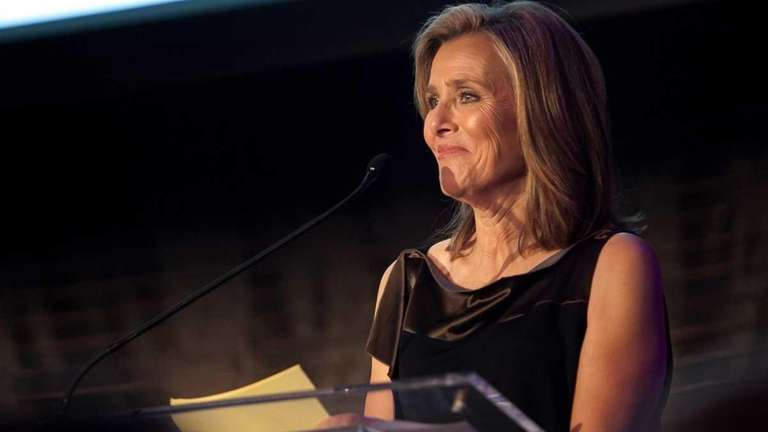 Journalist and TV personality Meredith Vieira hosts the