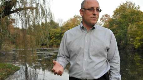 David Weinstein says his property borders the 27-acre