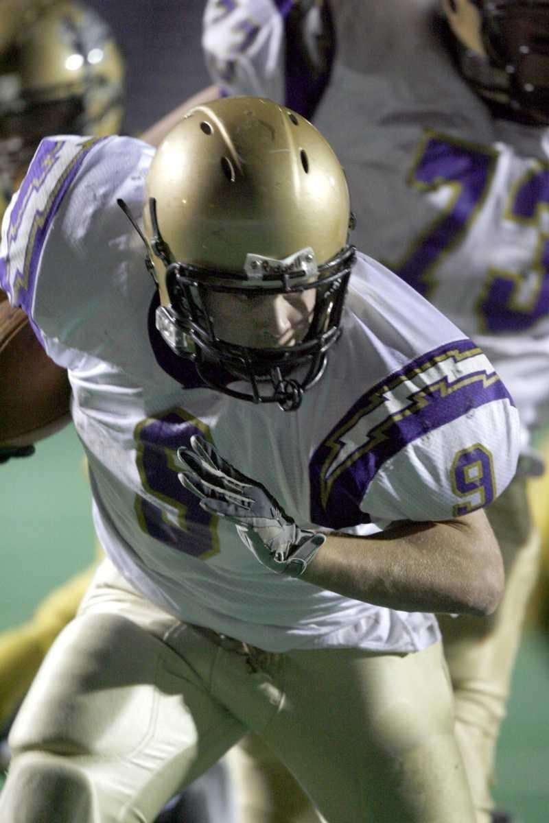 RUSHING ATTEMPTS: 44 John DeLuca, Sayville - 2004