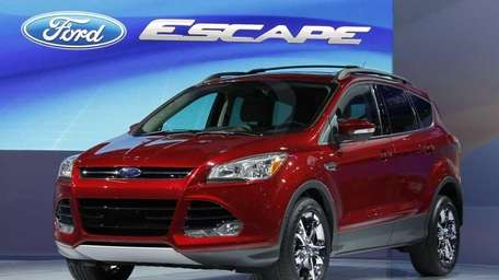 The 2012 Ford Escape makes its debut at