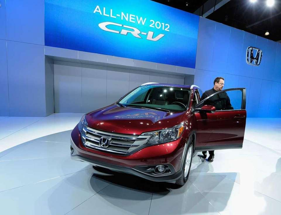 The new Honda 2012 CR-V is unveiled at