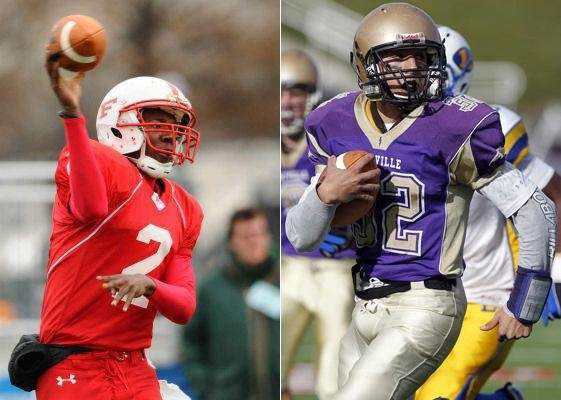 TOUCHDOWNS SCORED: 6 Isaiah Barnes, Freeport, 2010 (left)