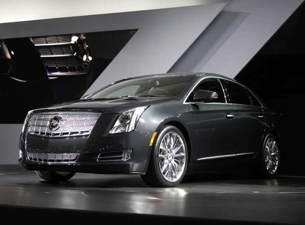 The new Cadillac XTS is unveiled at the