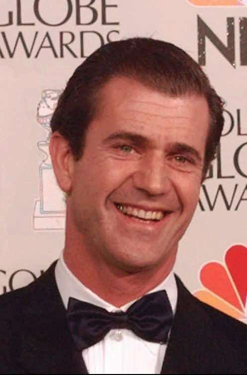 Mel Gibson was the first man selected for
