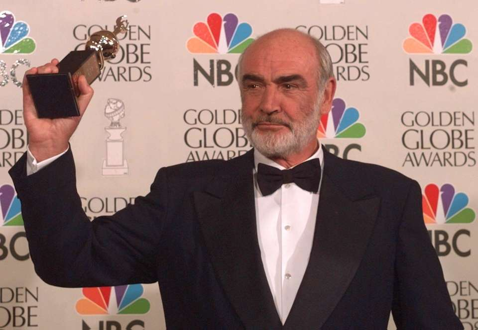 Sean Connery was named the sexiest man in