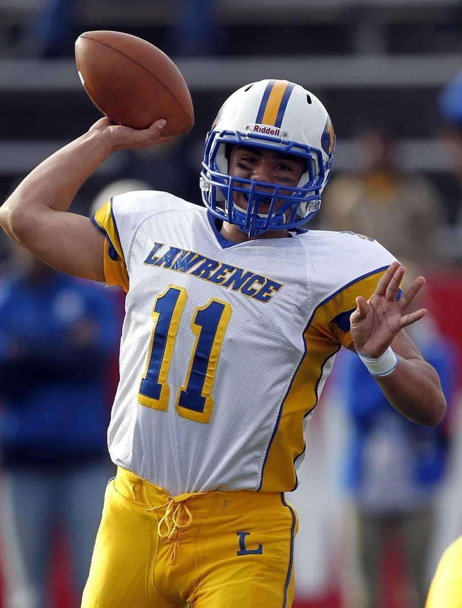 MOST PASSING YARDS: 541 YARDS Joe Capobianco, Lawrence,