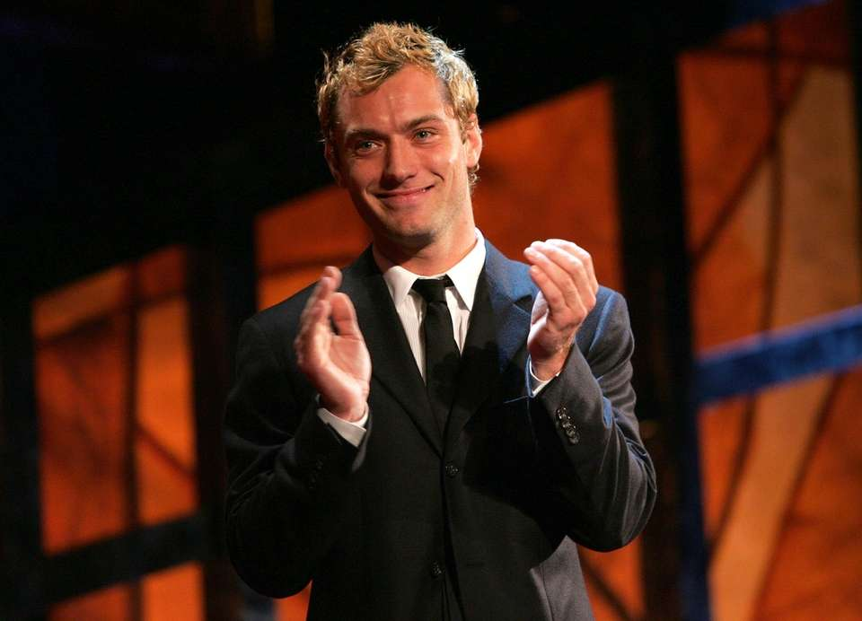 Jude Law became the first English winner of