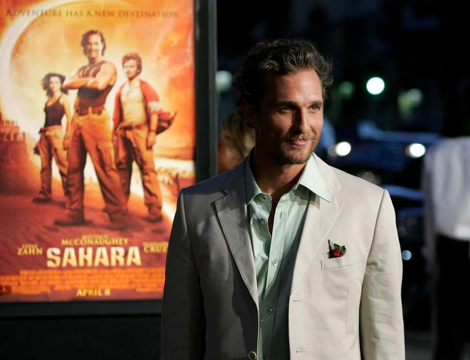 Matthew McConaughey became the envy of Hollywood, being