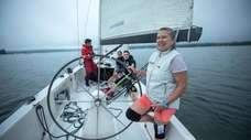 On Tuesday, June 18, we went sailing with
