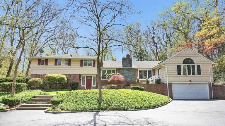 This East Norwich split-level is listed for $1.1