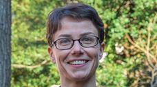 Heather Lynch, an associate professor of ecology and