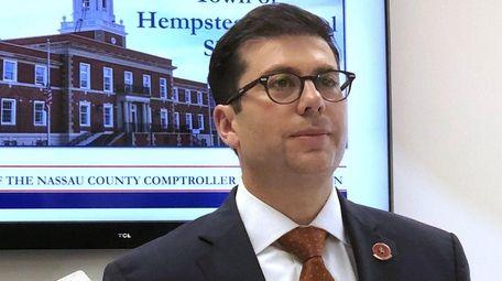 Nassau County Comptroller Jack Schnirman, seen June 4,
