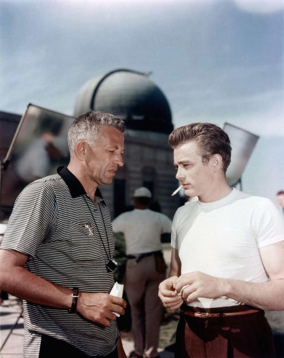 James Dean, right, made just three films: