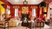 Manhattan designer Inson Wood's Chinese New Year-themed room