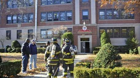 Hempstead firefighters, emergency medical service personnel and Nassau