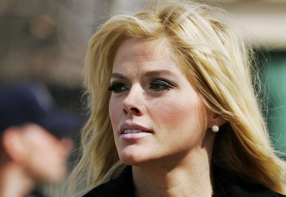 Former Playboy model Anna Nicole Smith was found