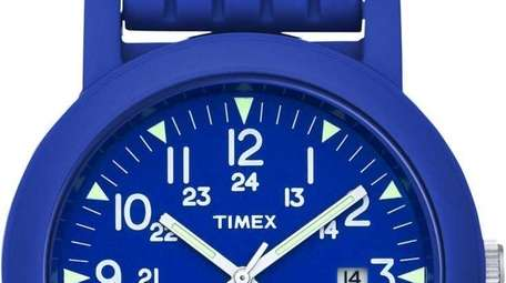 Even watches go royal blue, with this Modern