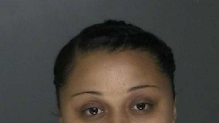 Charisma Thompson-Pike, 17, of Central Islip was arrested