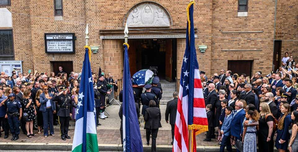 The body of Luis Alvarez, a former NYPD