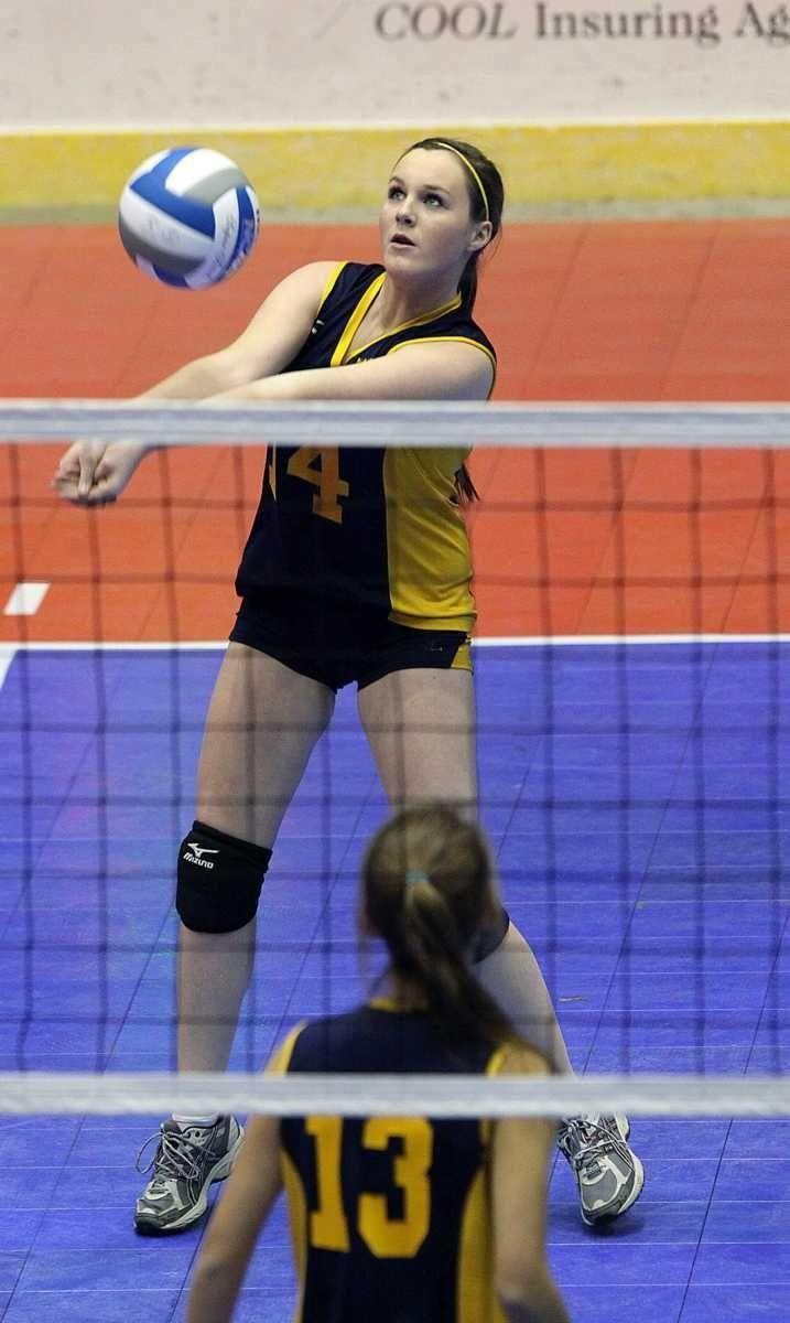 Mattituck's Laurel Bertolas gets control of ball against