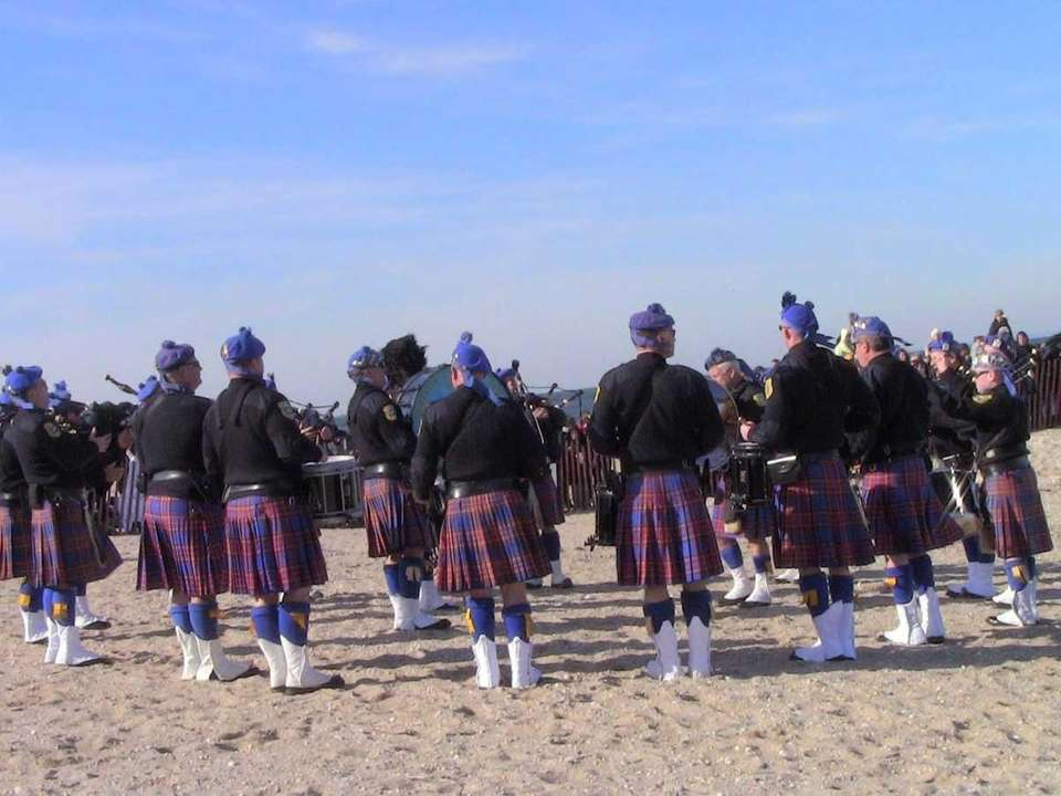 The Suffolk County Police Department Pipes and Drums
