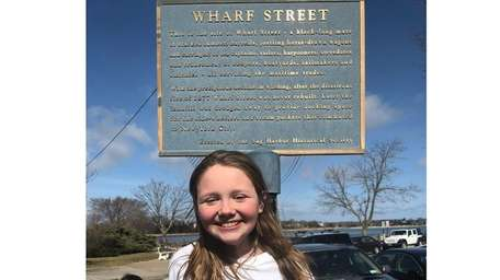 Kidsday reporter Cali Wilson, of Pierson Middle School,