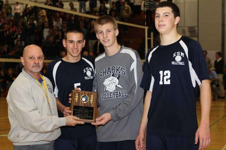 Eastport South Manor's Ryan Brisson, John Bohnenblusch and