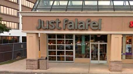 The Just Falafel location in Carle Place, which