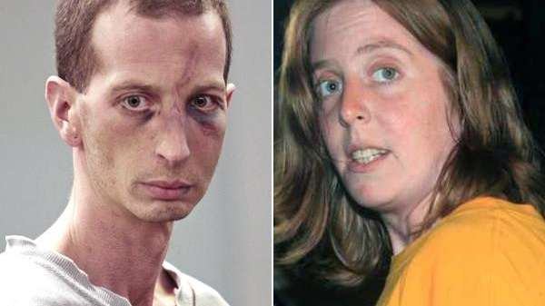 File photos of David Laffer and his wife,