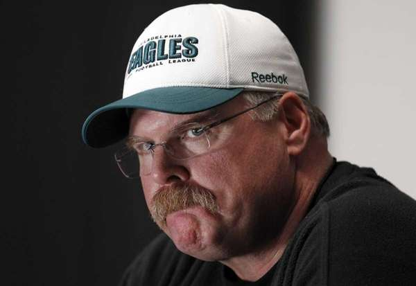 Eagles chairman Jeffrey Lurie said coach Andy Reid