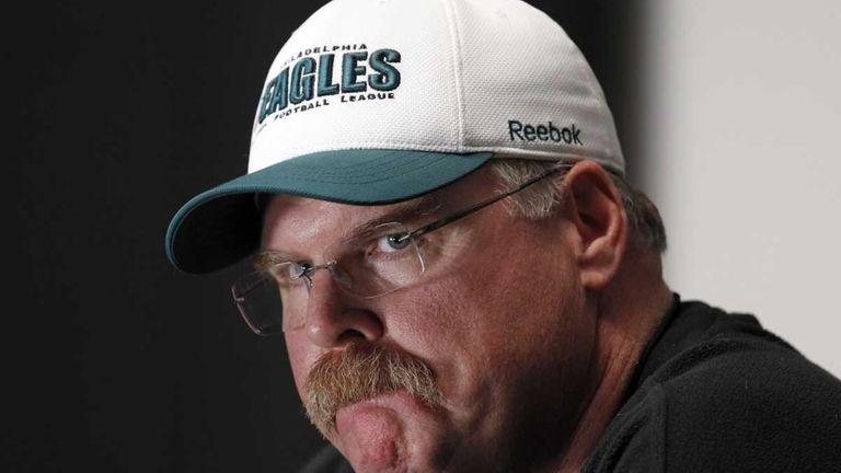 Eagles chairman Jeffrey Lurie said coach Andy Reid