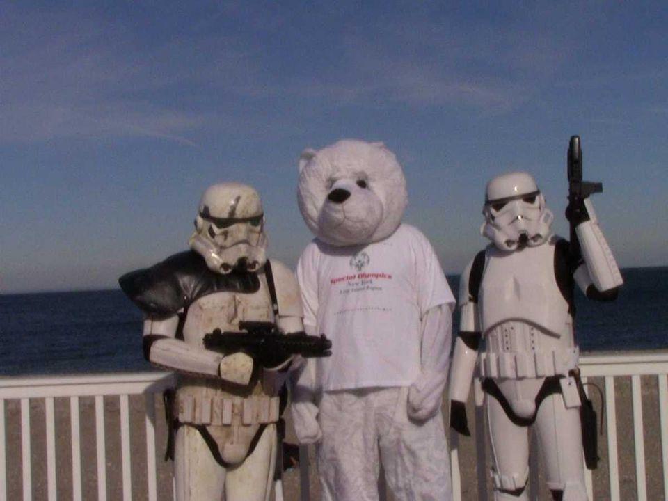 Members of the Long Island 501st Stormtrooper Legion
