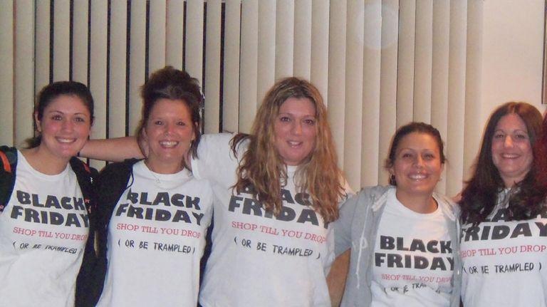 Newsday's 2011 featured Black Friday shopper, Amie Ortiz