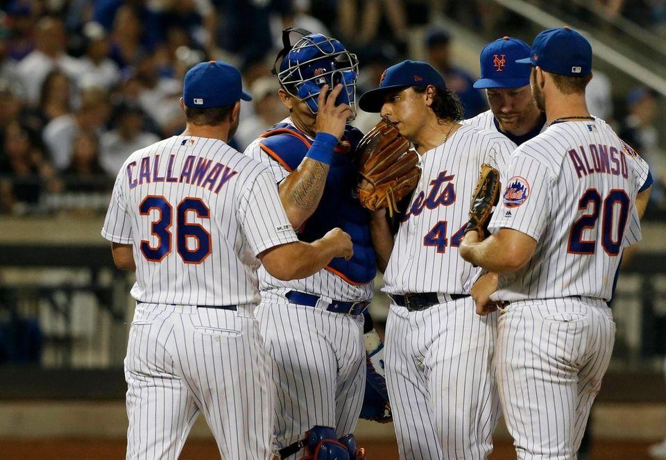 Jason Vargas #44 of the New York Mets