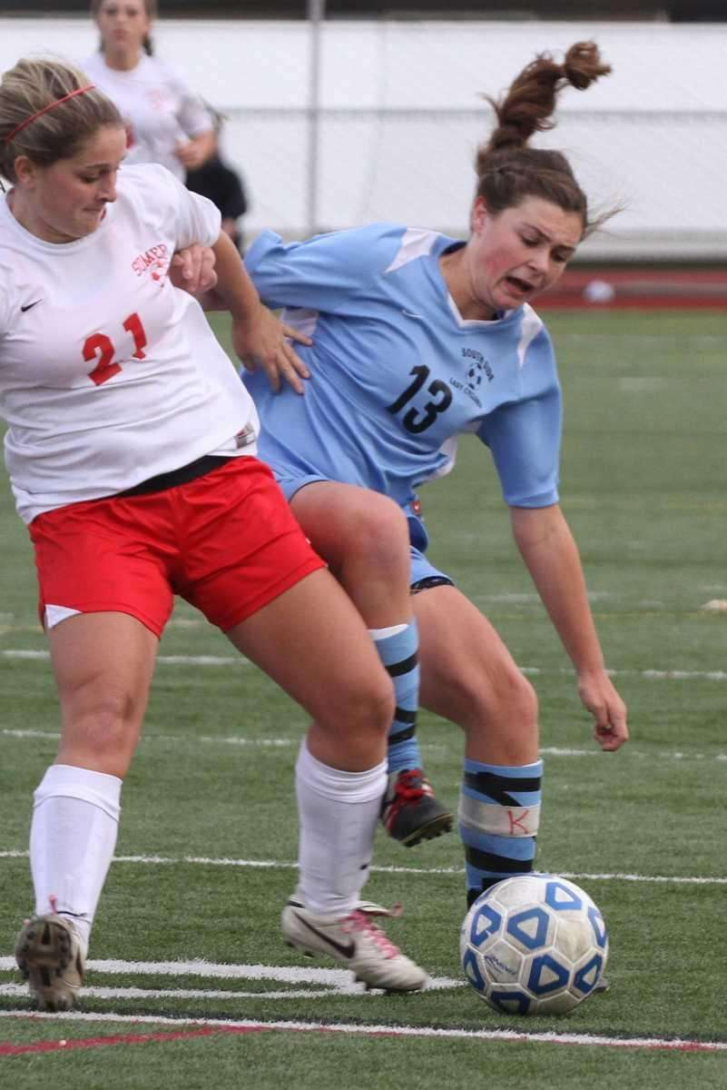 South Side's Kelsey Ford gets physical with Somers