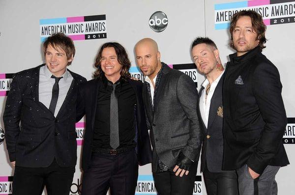 Musicians Robin Diaz, Brian Craddock, Josh Steely, Chris