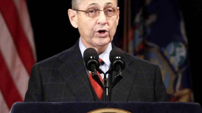 Assembly Speaker Sheldon Silver in Albany on Jan.
