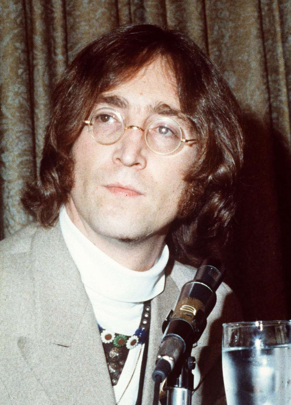 John Lennon, the founding member of The Beatles,