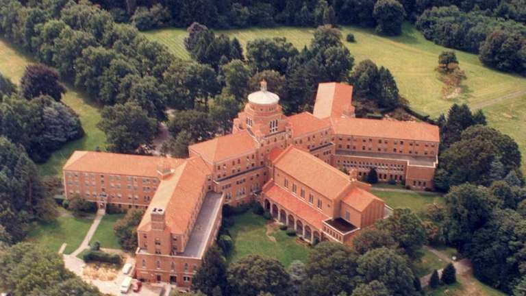 An aerial view of the Seminary of the