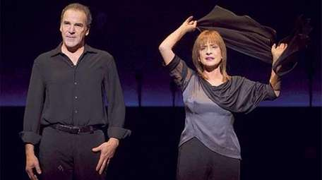 An Evening with Patti Lupone and Mandy Patinkin.